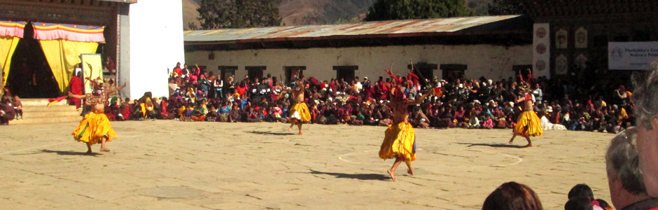 Festivals in Bhutan are called tshechu and are huge cultural events that are a must do for all travelers to Bhutan