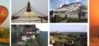 Chengdu, Tibet, Nepal, Bhutan, and Myanmar