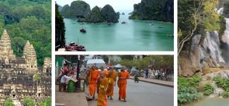 Cambodia, Vietnam and Laos