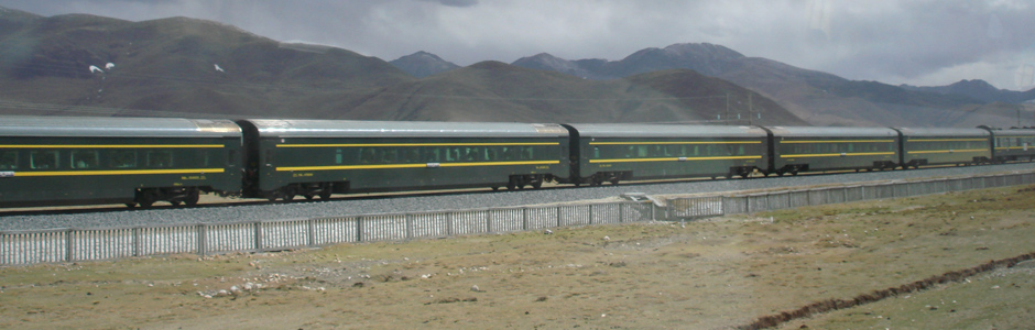Train Journey Across the Roof of the World